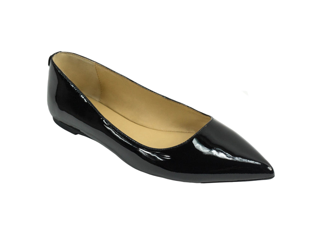 b5f7ae32e12 MICHAEL Michael Kors Arianna Patent Pointed-Toe Flat – The Mercantile