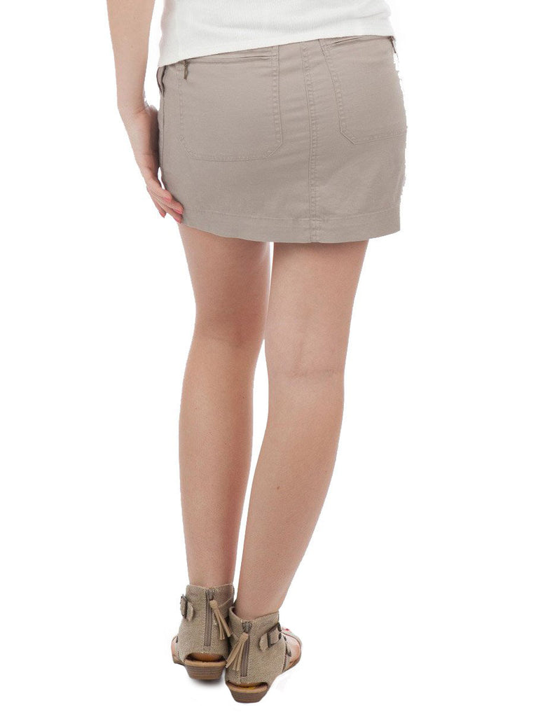 Robbi & Nikki Linen Mini Skirt - The Mercantile