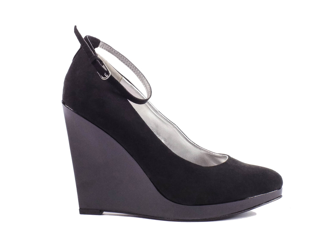 Guess Suede Platform Wedges - The Mercantile