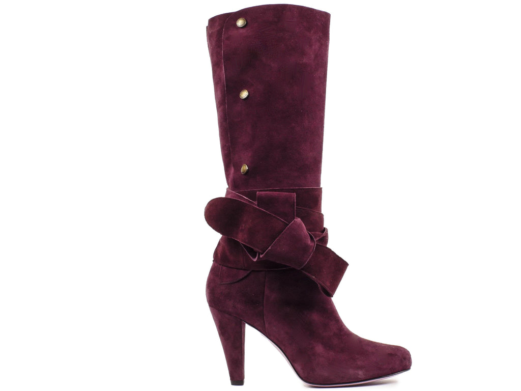 RED Valentino Suede Scarpe Boots