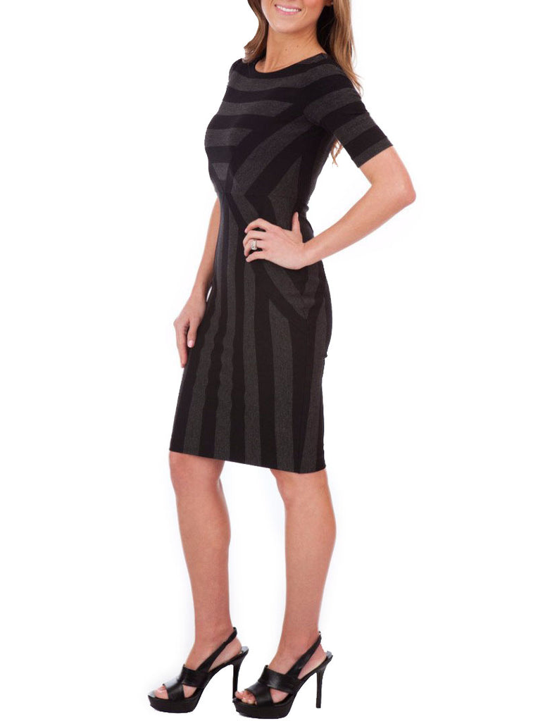 Maeve Geoplane Pencil Dress - The Mercantile