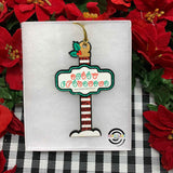 ASL Christmas Sign Ornament
