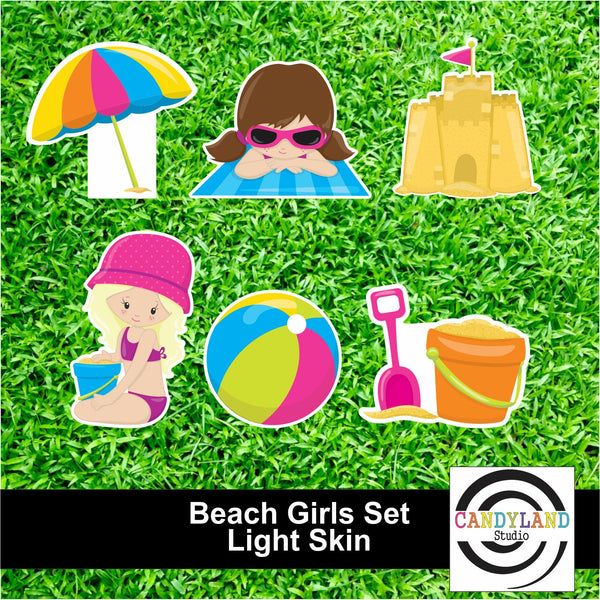 Beach Girls - Light Skin