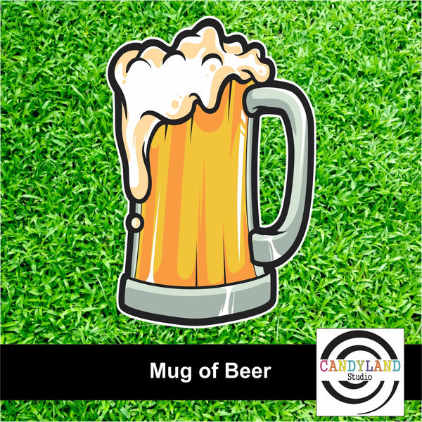 Mug of Beer Yard Sign