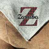 Personalized Sweater Fleece Blanket