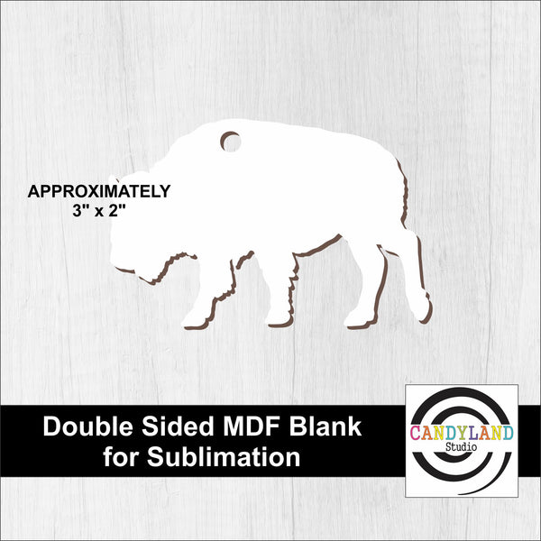 Buffalo MDF Blanks - Double Sided