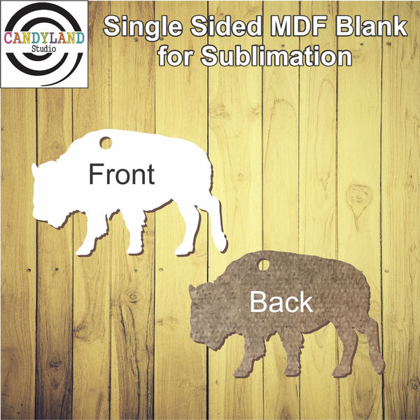 Buffalo MDF Blanks - Single Sided