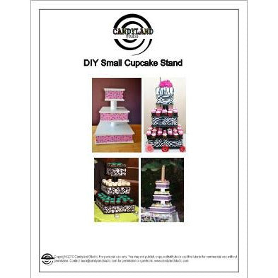 DIY Cupcake Stand Tutorial
