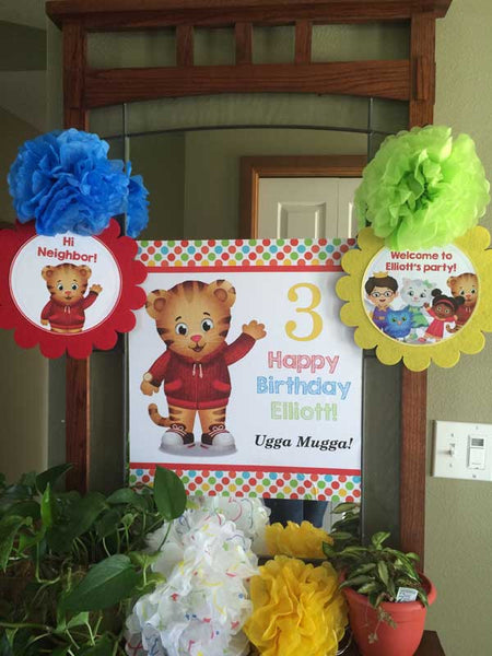 Free Daniel Tiger Party Printables Candyland Studio