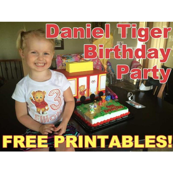 Free Daniel Tiger Party Printables