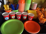 Daniel Tiger Birthday Party Cups & Plates