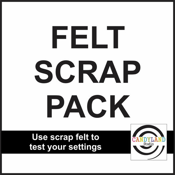 Scrap Pack for Felt Blanks