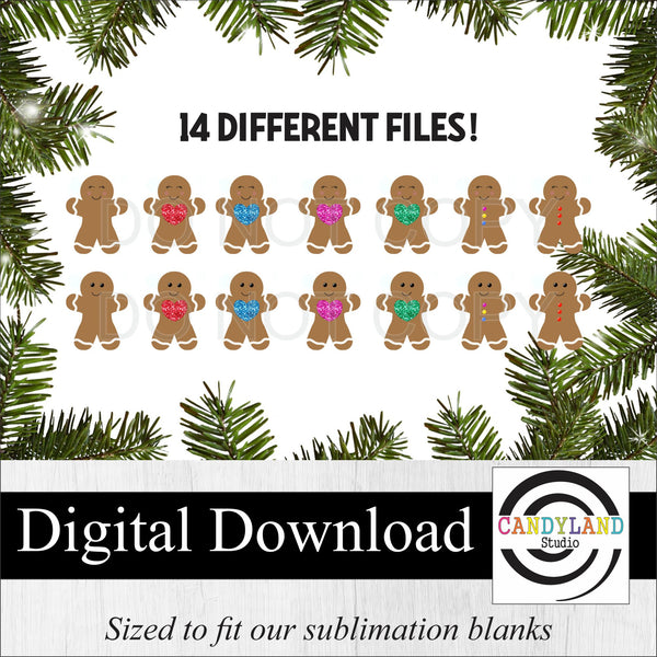 Gingerbread Man/Woman Digital Bundle