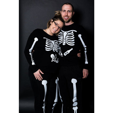 Cutest Couple's Maternity Costume Ever!