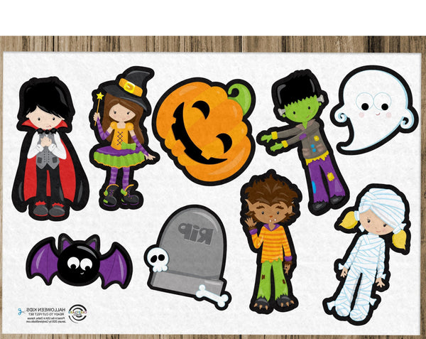 Halloween Kids Flannel Board Felt Story Set - LEMONADE SALE