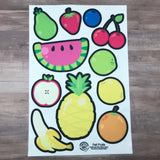 Fruits & Veggies Flannel Board Felt Story Sets