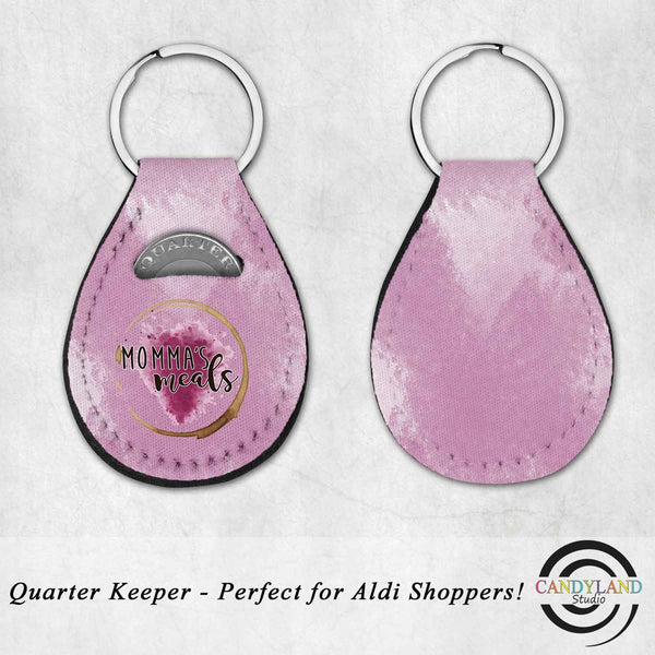 Momma's Meals Quarter Holder Key Fob