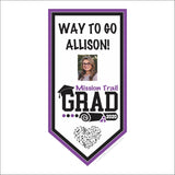 Mission Trail Graduation Banner
