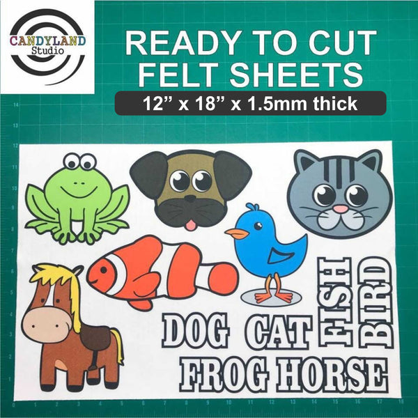 Pets I Love Flannel Board Felt Story Set + Vocab
