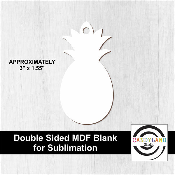 Pineapple MDF Blanks - Double Sided