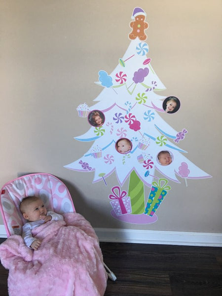 No need to worry about the baby getting into the tree this year!