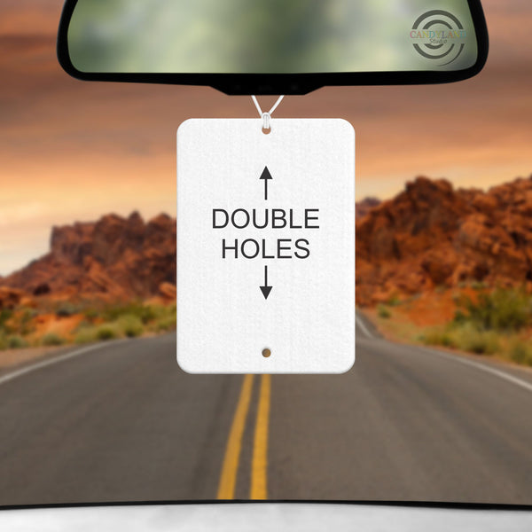Double Hole Rectangle Felt Blanks