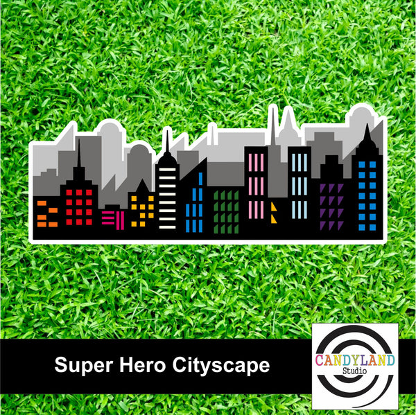 Super Hero - Cityscape