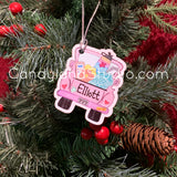 VSCO Girl Truck Ornament/Backpack Tag