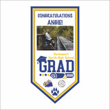 Vertical Graduation Banner w/Photo