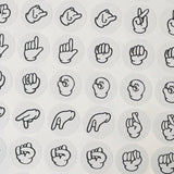 Sign Language Planner Stickers