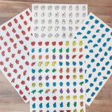 American Sign Language Alphabet Stickers