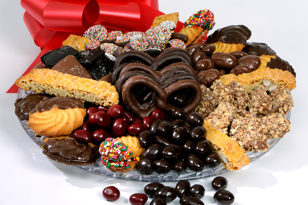 Italian Cookie and Chocolate Gift Tray