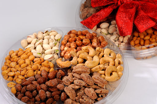 6 Nut Assortment Gift Tray Extra Fancy 2 lbs.