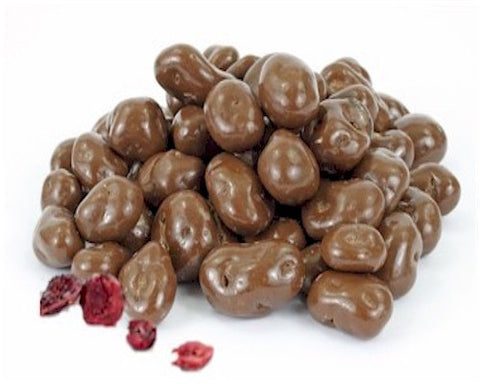 Milk Chocolate Covered Cranberries