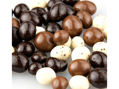 Coffee Beans Tri Color Chocolate  Covered