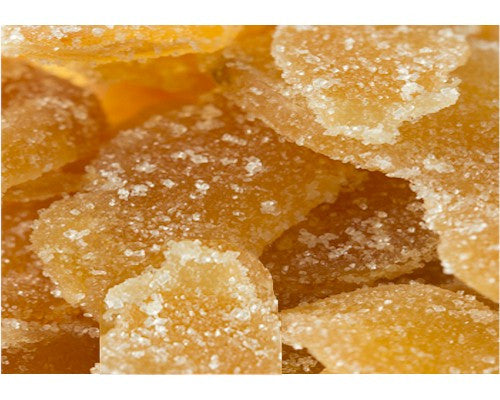 Ginger Crystallized Dried Unsulphured