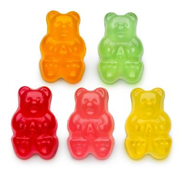 Natural Flavor Gummy Bears 5 Flavors