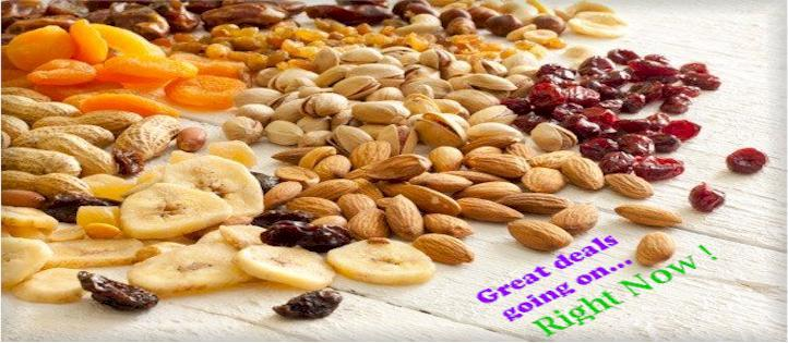 Great Fresh Assortment of Nuts & More