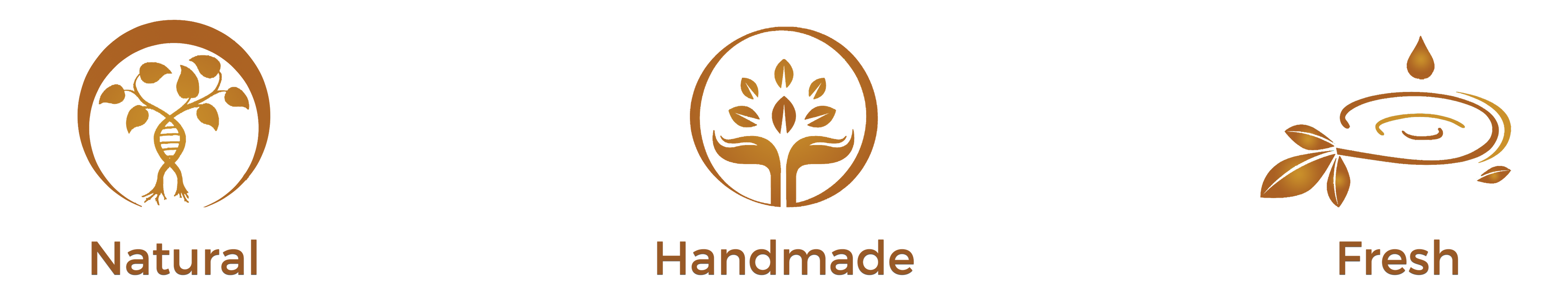 Natural, Handmade, Fresh
