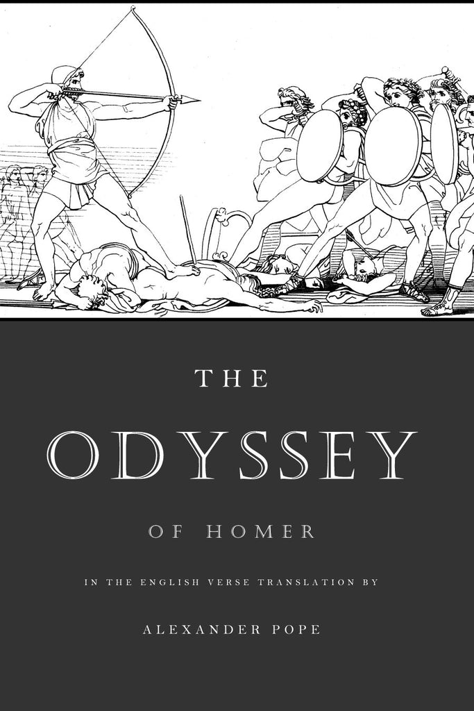 homer the odyssey translated by pope ex fontibus company