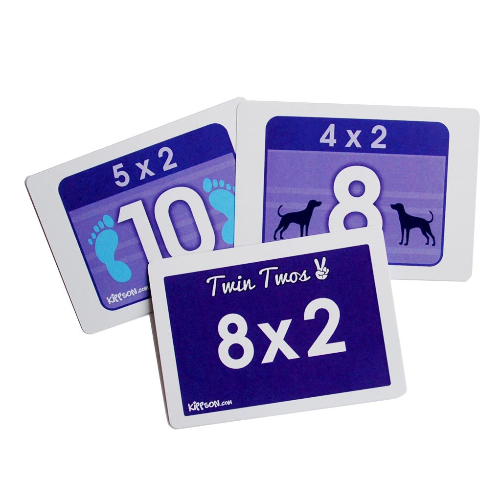 Times Tables Flash Cards - Full Set