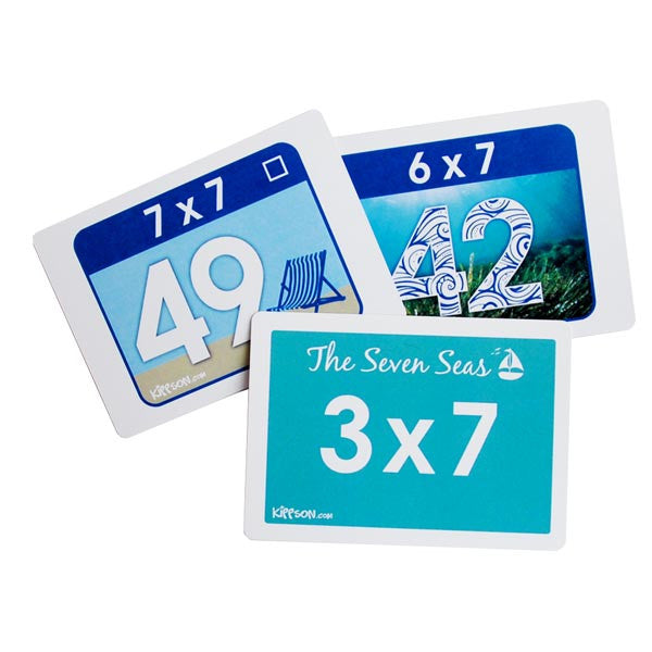 maths flash cards with pictures by Kippson