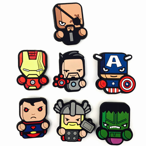 Heroes Badge Set