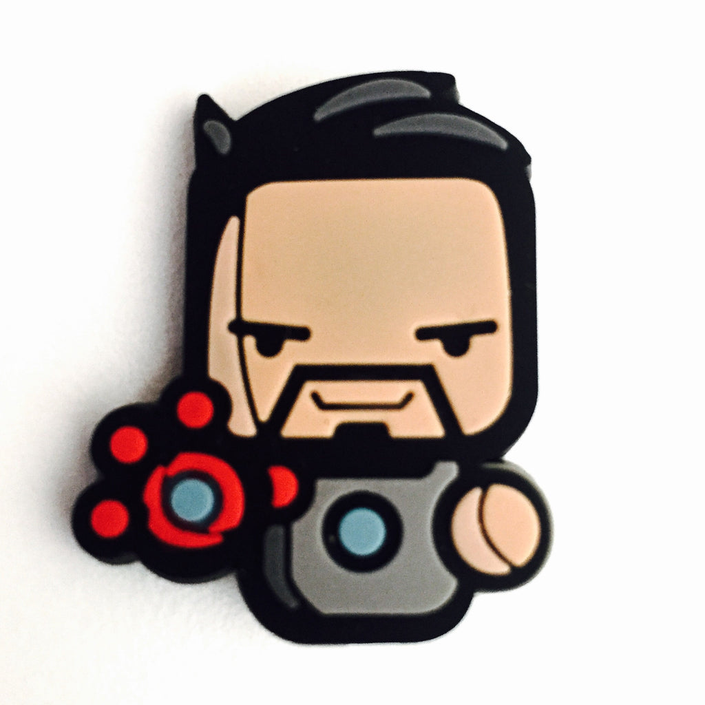 Tony Stark Badge