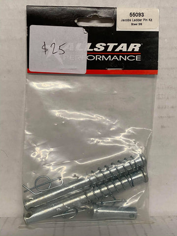 Allstar Performance Jacobs Ladder Pin Kit Steel 3/8