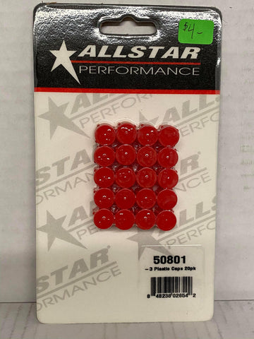 Allstar Performance Plastic Caps