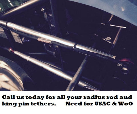 King Pin and Radius Rod teathers