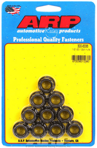 1/2'-20 12pt. Nuts 10pk
