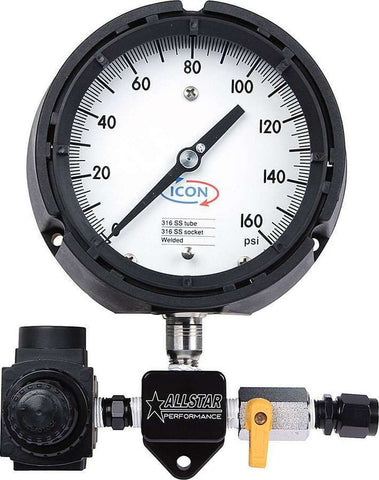 Allstar Performance Sprint Fuel Pressure Gauge High Speed Set Up