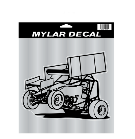 Wing Sprint Car Decal